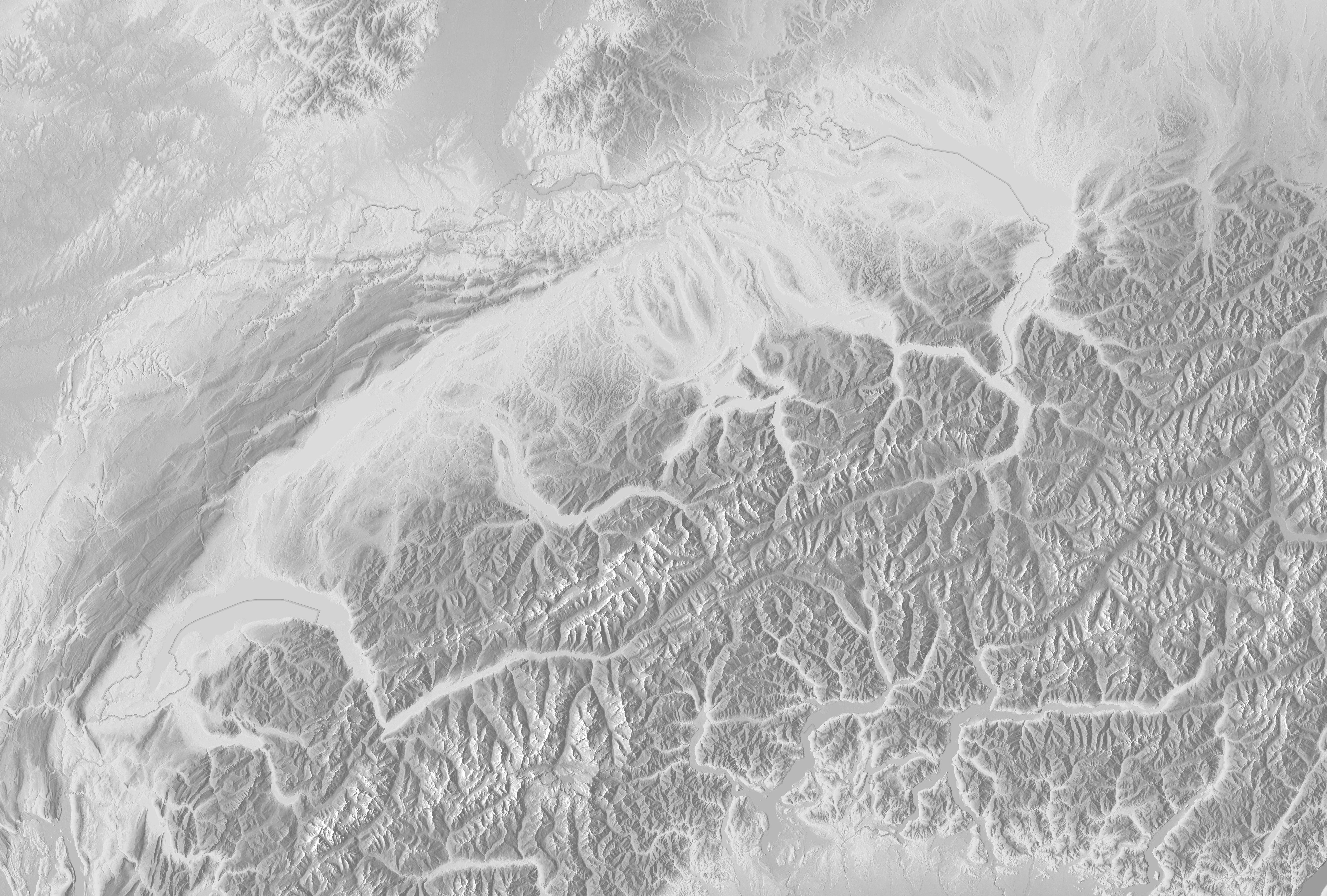 Vorlagen - leere Landkarten